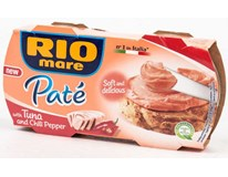 Rio Mare Paté tuňákový krém chilli 2x84g