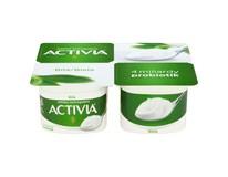 Danone Activia Bílá jogurt chlaz. 4x120g multipack