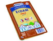 Madeta Jihočeský Eidam sýr uzený 44% plátky chlaz. 1x100g