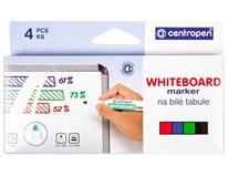 Značkovač na tabule Centropen 8559 kulatý sada 4ks