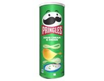 Pringles Cibule&Smetana chipsy 1x165g
