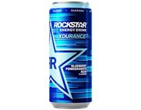 Rockstar Xdurance Blueberry energetický nápoj 12x500ml plech