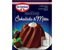 Dr.Oetker Premium Puding Čokoláda&máta 6x50g