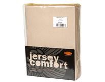 Prostěradlo Comfort J177 180x200cm tmavě béžové 1ks