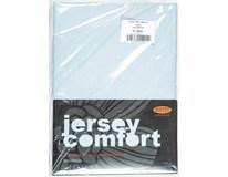 Prostěradlo Comfort J177 180x200cm světle šedé 1ks