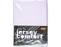 Prostěradlo Comfort J177 180x200cm světle fialové 1ks