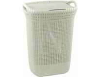 Koš na špinavé prádlo Knit Curver 57L bílý 1ks