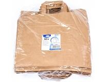 Taška papírová 32x21x33cm hnědá 50ks