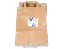 Taška papírová 26x14x32cm hnědá 50ks