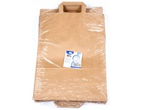 Taška papírová 32x16x39cm hnědá 50ks