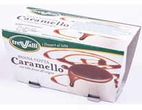 Trevalli Panna Cotta karamel chlaz. 2x100g