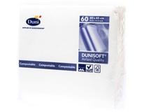 Dunisoft Ubrousky 40x40cm bílé 1x60ks