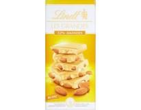Lindt Les Grandes White Almond čokoláda 1x150g