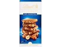 Lindt Les Grandes Milk Hazelnut čokoláda 1x150g