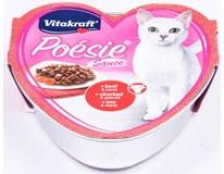 Poésie Hovězí + mrkev konzerva pro kočky 1x85g