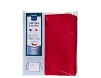 Zástěra krátká s kapsou Metro Professional 50x110 červená 1ks