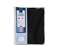 Zástěra 3/4 s kapsou Metro Professional 75x90 černá 1ks