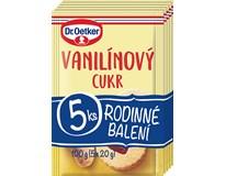 Dr.Oetker Cukr vanilínový 5x20g