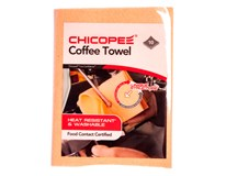 Utěrka Chicopee Coffee oranžová 10ks
