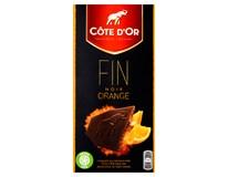 Cote D'Or Čokoláda hořká s pomerančem 2x100g