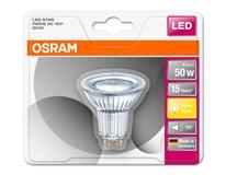 Žárovka Osram LED 3,6W GU10 120 stupňů teplá bílá 1ks