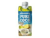 Pure Coco 100% kokosová voda a ananas 12x330ml