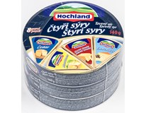 Hochland sýr tavený 4sýry 45% chlaz. 3x140g