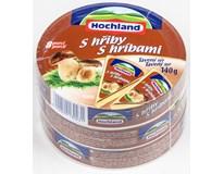 Hochland sýr tavený s hřiby 45% chlaz. 3x140g