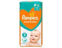 Pampers Sleep&Play Midi S3 pleny 1x58ks