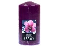 Svíčka vonná Spaas 8x15cm orchid 1ks