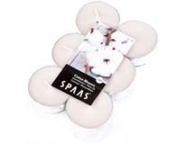 Svíčky čajové maxi Spaas cotton 12ks