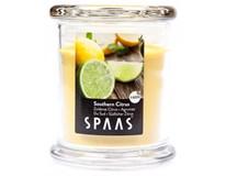 Svíčka Spaas 9x11cm citrus sklo 1ks