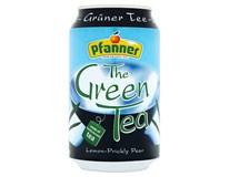 Pfanner Čaj zelený citron/kaktus 24x330ml plech