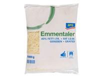 ARO Emmentaler 45% sýr strouhaný chlaz. váž. 1x cca 1kg