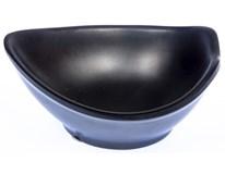 Miska kapka melamin 9,5x7,5cm  černá 1ks