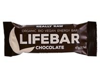 Lifebar Tyčinka čokoládová BIO 1x47g