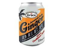 Grace Ginger Beer limonáda 1x330ml plech