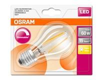 Žárovka Osram LED DIM 7,5W E27 Filament CL teplá bílá 1ks