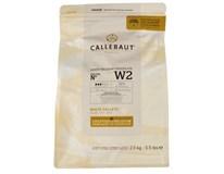 Callebaut Čokoláda bílá 1x2,5kg