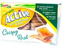 Bonavita Active Crispy Rusk suchary s celozrnnou moukou 1x180g