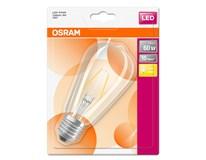 Žárovka Osram LED 7W E27 Filament CL teplá bílá  1ks