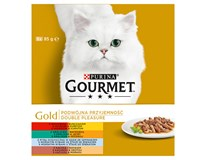 Purina Gourmet Gold kapsičky mix 8x85g