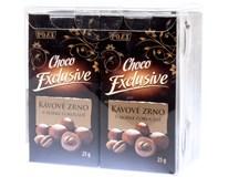 Kávové zrno v čokoládě hořké 6x25g