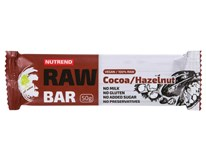 Nutrend Raw tyčinka kakao+lískový oříšek 1x50g