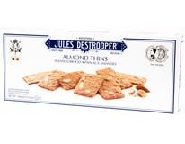 Jules Destrooper Sušenky mandlové lupínky 1x100g