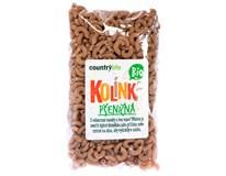 Country Life Kolínka těstoviny pšeničné BIO 1x400g
