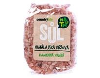 Country Life Sůl himalájská růžová hrubá 1x500g