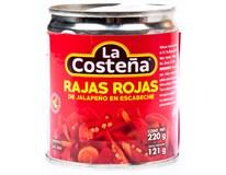 La Costeňa Jalapeno Rajas Rojas 1x220g