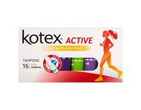 Kotex Active Tampony normal 1x16ks