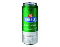 Birell Ochucený zelený ječmen nealkoholické pivo 6x4x500ml plech